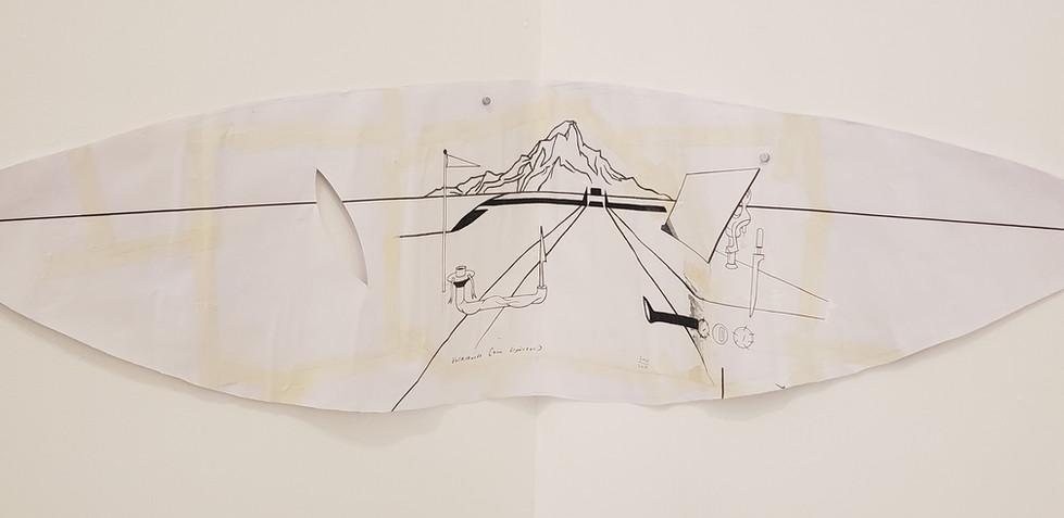 About Kirsten, 2019 Lux Lindner, Etnología para completar Técnica mixta sobre papel