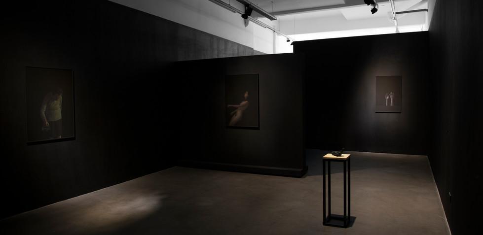 Un paisaje no deja de existir aunque le demos la espalda Lihuel González 2019, Acto 2, imagen de sala