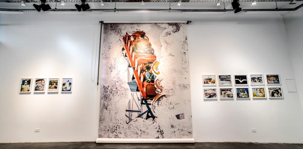 Otsuchi - Memorias del futuro Alejandro Chaskielberg 2018, imagen de sala