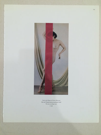 Nude with Drape of Green Material C.1937  - Serie b