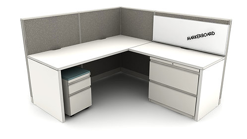 Office Workstations Layout #2