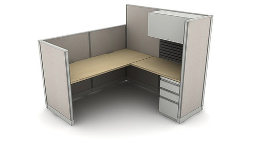 Office Workstations Layout #1