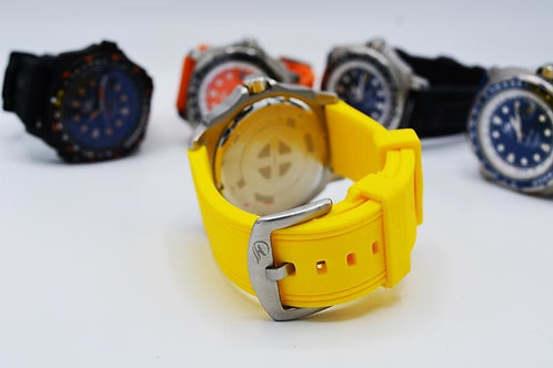 Cinturino in Silicone Giallo / Silicon wrist strap