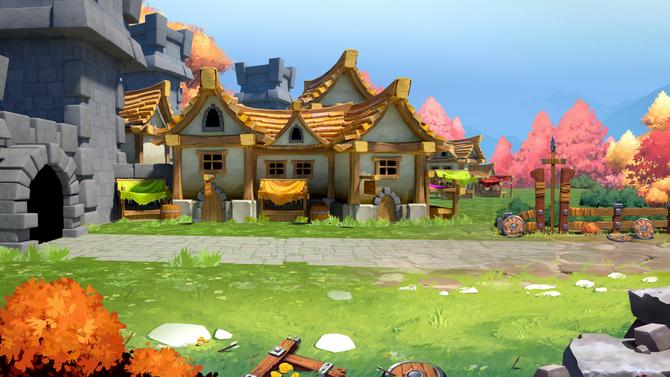 Environment Background - Village
