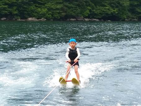 水上スキージュニアレッスン