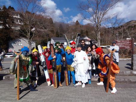 平成27年2月3日 箱根神社節分祭り 湖上鬼追い
