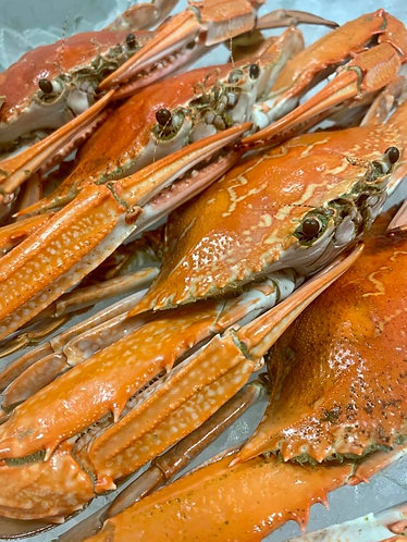 Cooked Blue Swimmer Crabs