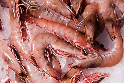 Large Green King Prawns