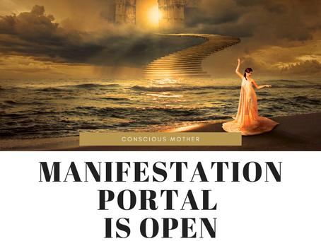 Manifestation Portal Is Now Open