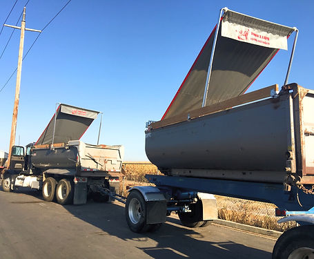 bay area end dump trucks, dump truck tarps,
