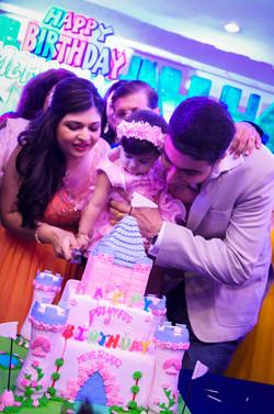 Mehernaaz's 1st Birthday