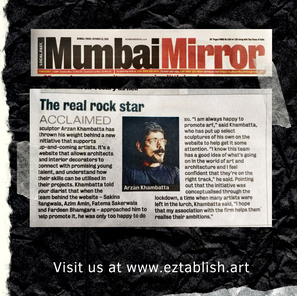 Eztablish Art - Mumbai Mirror