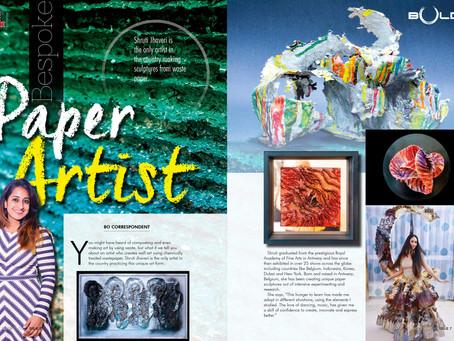 Shruti Jhaveri - Bold Magazine