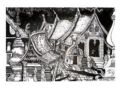 Wat Xiengthong, Luang Prabang 2018