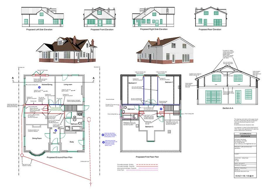 Extension plans.