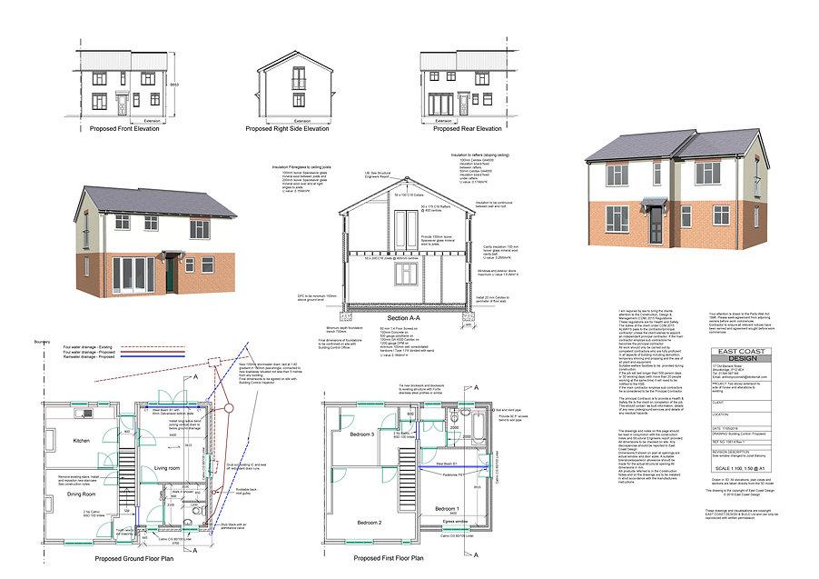 Woodbridge. Extensions