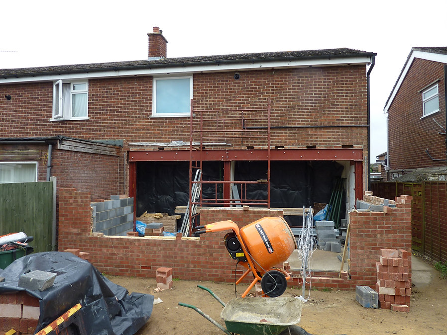 House extension.