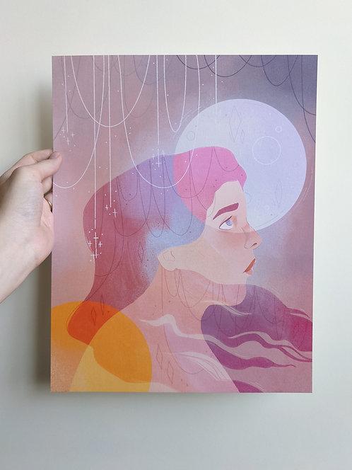 Sun & Moon Poster