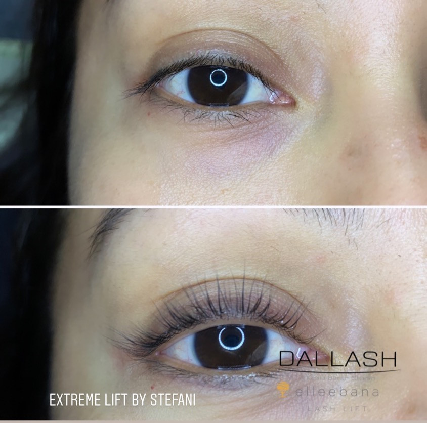 The EXTEME done by Stefani- lashlift-las