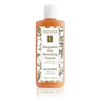 Extend the benefits of a treatment or peel at home with a resurfacing cleanser. This milky gel lightly lathers to slough off dead skin without manual exfoliation or over-stripping. The Lactic Acid Complex and mangosteen in this cleanser work together to restore a smooth, radiant complexion. Key Ingredients:  Mangosteen: A super fruit that helps protect skin from drying environmental stressors while promoting natural radiance Lactic Acid Complex (Lactic Acid, Ribose, Red Clover Flower Extract): A proprietary blend of actives; gently resurfaces skin and refines pores for a more luminous, even, and youthful looking complexion Lactic Acid: Gentle alpha-hydroxy-acid (AHA) exfoliant; removes buildup and improves skin hydration for a brighter, smoother complexion Ribose (from Corn Seeds): promotes the look of smoother, revitalized skin Red Clover Flower Extract: refines and improves skin tone to minimize pore size We Believe in:        We say NO to:  Organic                 Parabens              Natural                  Phthalates  Biodynamic®         Sodium Lauryl Sulfate  Sustainable            Propylene Glycol  Cruelty Free           Animal Testing  Our natural, organic and Biodynamic® ingredients may have slight variations from harvest to harvest.