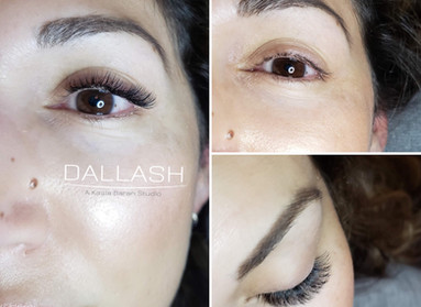 Russian Volume Set done by Kasia--lashes