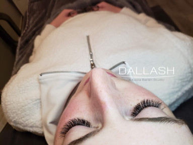 Hybrid Extra Set done by Kasia--lashes -