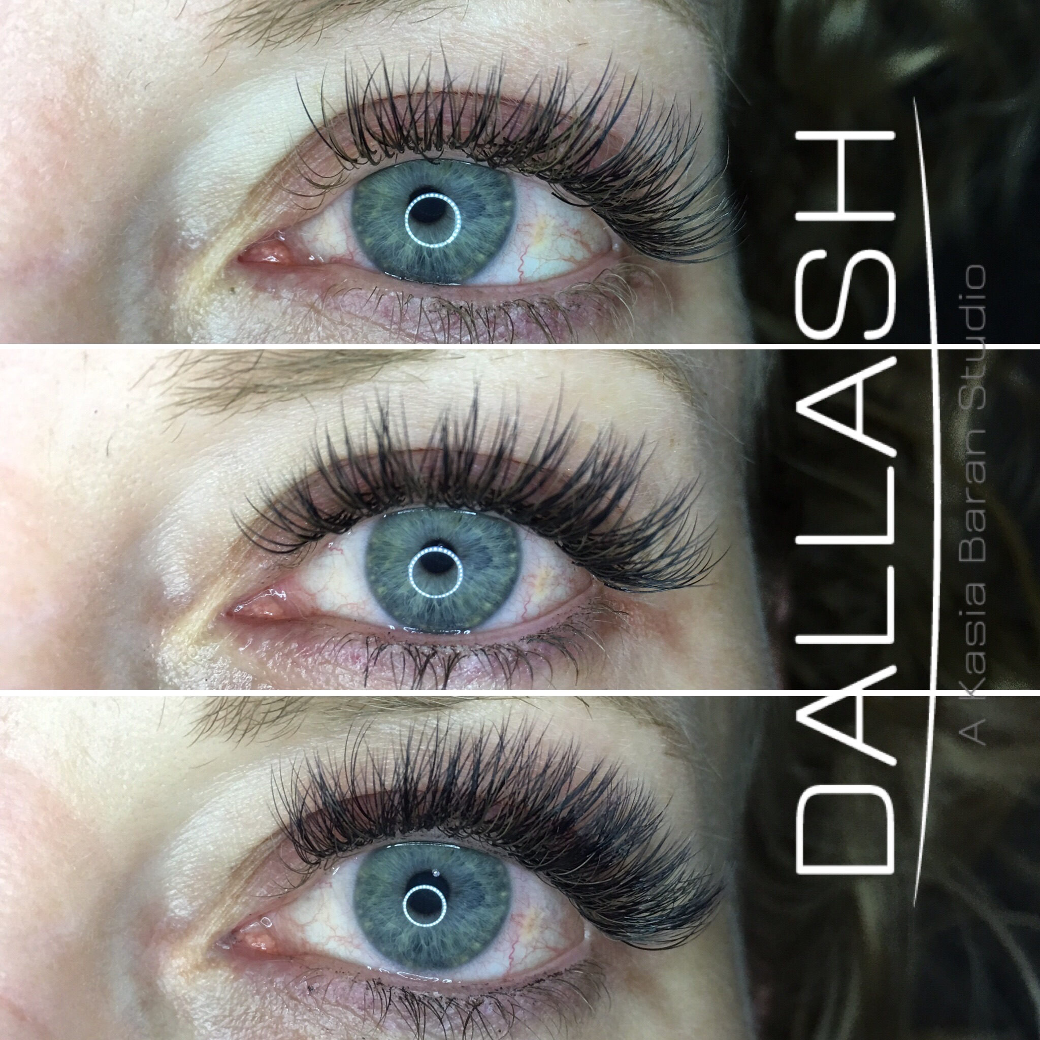 CLASSIC TO VOLUME LASHES TRANSISION