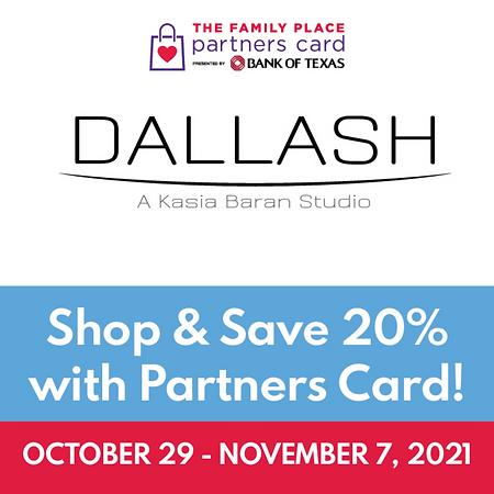 DALLASH PARTENRS CARD
