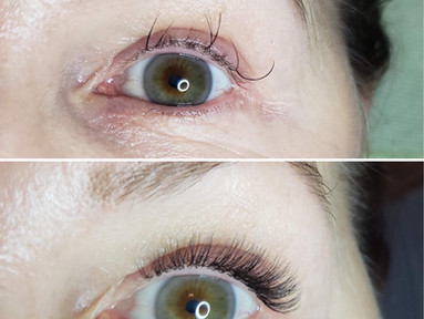 Hybrid Set EXTRA  done by Kasia-lashes -