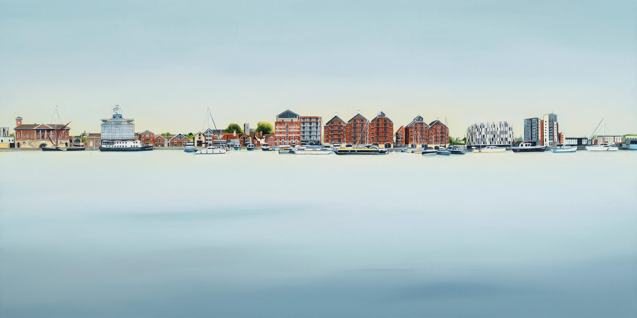 Kate Felton_Ipswich Waterfront 1_oil on