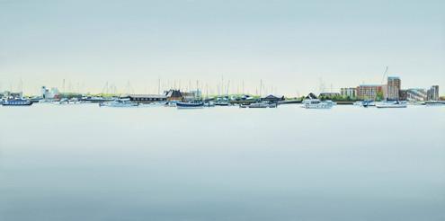 Kate Felton_Ipswich Waterfront 2_oil on