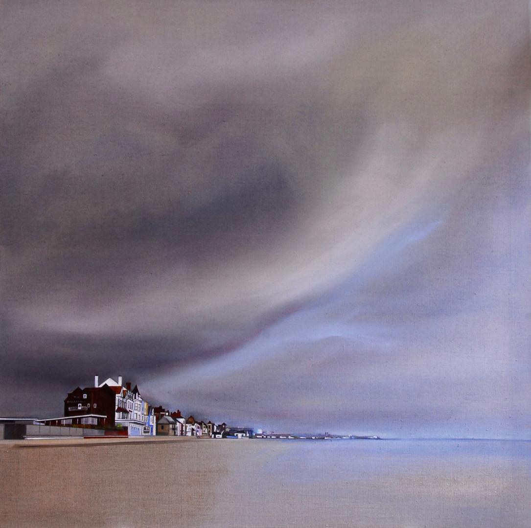 KATE FELTON HALL Aldeburgh Beach with Th