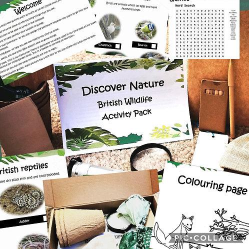 British Wildlife Activity Pack