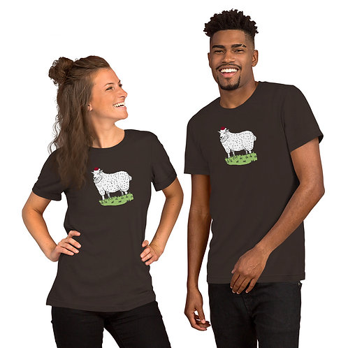 Christmas Sheep Unisex T-Shirt