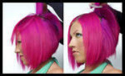 Demonstrating Hair Coloring Techniques and Sectioning