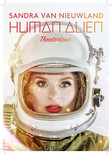 Flyer Human Alien Tour frontside