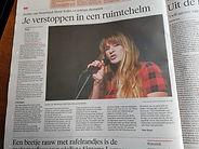 Recensie van theatershow in Haarlems Dagblad