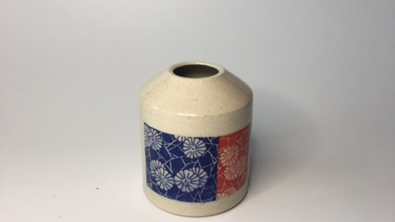 smooth stoneware vase
