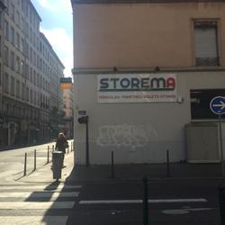 """Enseigne """"Storema"""" Lyon 6 #Yllog"""