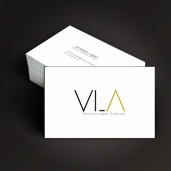 "Carte de visite ""Vanessa Lopez Avocat"" #Yllog"