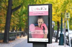Affiche Octobre Rose en situation #Yllog
