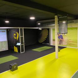 Design cage de simulation pour @Addon golf