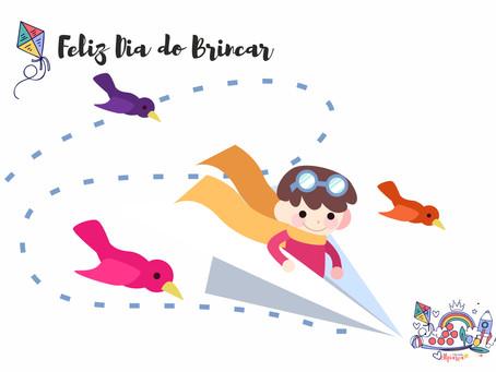Hoje, 28 de Maio é o Dia Internacional do Brincar.