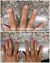 JKC Wellness Gel nail repair