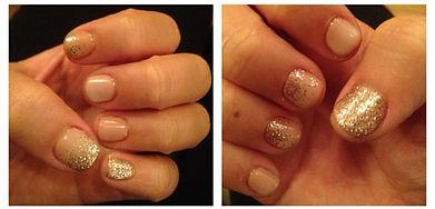JKC Wellness Gel polish with glitter