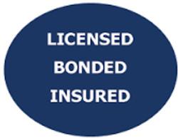 Licensed/Bonded/Insured