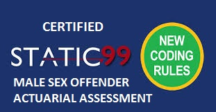 Static 99R Certified
