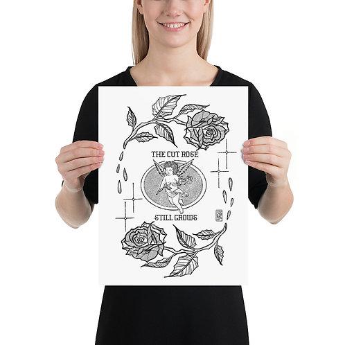 Cut Rose Print