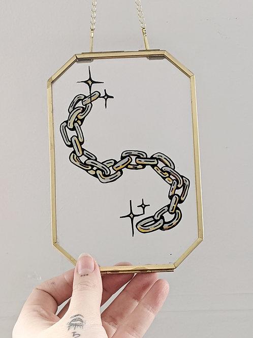 Reverse Glass Chain