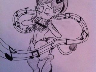 Satyr doodle